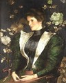 Portrait of Lady Sutherland - Edwin Arthur Ward