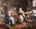 The Royal Family of France in the Prison of the Temple in 1792, 1851 - Edward Matthew Ward