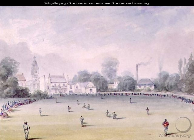 The Oval, Kennington, 1851-2 - Nicholas (Felix) Wanostrocht