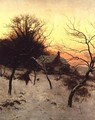 Mid-winter at Abinger Hammer, near Dorking, 1892 - Edward Wilkins Waite