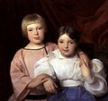 Children, 1834 2 - Ferdinand Georg Waldmuller