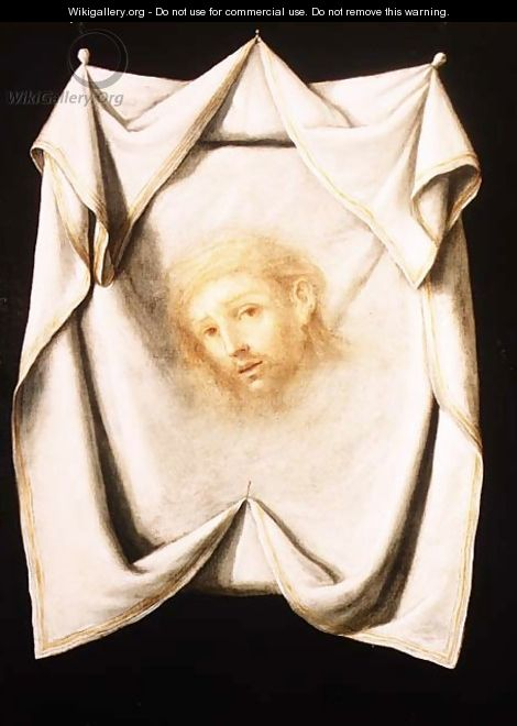 The Holy Face - Francisco De Zurbaran