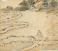 Bringing Water to the Paddy Fields, from Gengzhi tu (Pictures of Tilling and Weaving) - Tang Yin