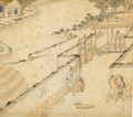 Husking, from Gengzhi tu (Pictures of Tilling and Weaving) - Tang Yin