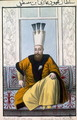 Mahmud I (1696-1754) Sultan 1730-54, from A Series of Portraits of the Emperors of Turkey, 1808 - John Young