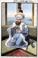 Mehmed II (1432-81) called 'Fatih', the Conqueror, from A Series of Portraits of the Emperors of Turkey, 1808 - John Young