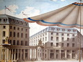 Design for decorating the Place de lOdeon for a revolutionary fete, 1790 - Charles de Wailly