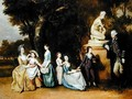 The Matthew Family of Felix Hall - Johann Zoffany