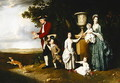 The Woodley Family - Johann Zoffany