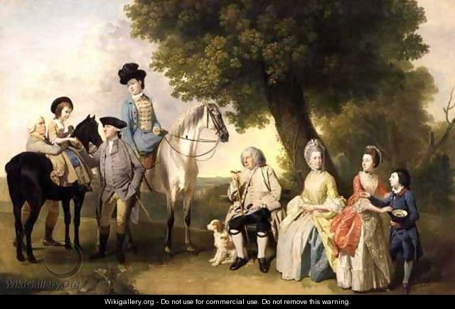 The Drummond Family, c.1769 - Johann Zoffany