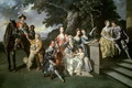The Family of Sir William Young (1725-88) c.1766 - Johann Zoffany