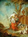 Shepherd and Shepherdess - Januarius Zick