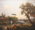 Landscape with a Boy Fishing, c.1740-50 - Francesco Zuccarelli