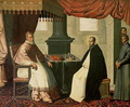 St. Bruno (1030-1101) and Pope Urban II (c.1035-99) 1630-35 - Francisco De Zurbaran