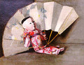Japanese Doll and Fan, 1891 - John Haberle