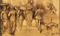 Isaac Sends Esau to Hunt - Lorenzo Ghiberti
