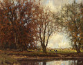 A View Of The Vordense Beek - Arnold Marc Gorter