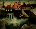 Harbour, Dieppe, 1929 - Christopher Wood