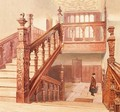 Charterhouse: the Grand Staircase, May 1885 - John Crowther