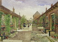 Skinners' Alms Houses, Mile End Road, Stepney, 1883 - John Crowther