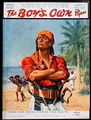 A Pirate figure from the front cover of The s Own , 1923 - Stanley L. Wood