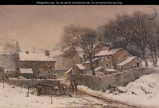 Heysham in Winter - William Woodhouse