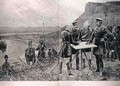 The Afghan Boundary Commission: The Russian and British Commissioners at Zulfikar, Fixing the Site of the First Boundary Post, 12th November, engraved by R. Taylor, from The Illustrated London News, 1st September 1886 - Richard Caton Woodville