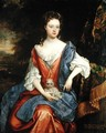 Portrait of Mary, Lady Barrington Bourchier - William Wissing or Wissmig
