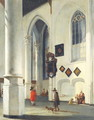 Interior of the Old Church at Delft, 1653-55 - Emanuel de Witte