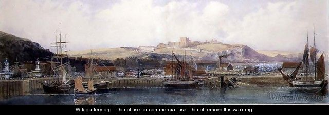 Dover from the Ferry, 1845 - Peter de Wint