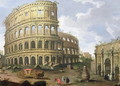 A View of the Colosseum in Rome - (circle of) Wittel, Gaspar van (Vanvitelli)