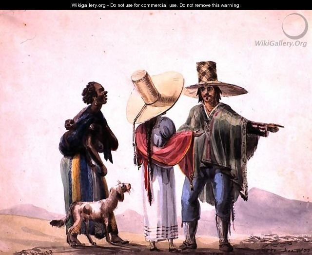 People from Pisco, 1820 - Carlos D. Wood