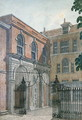 The Inner Court to Old Salters Hall, 1750 - Wilson
