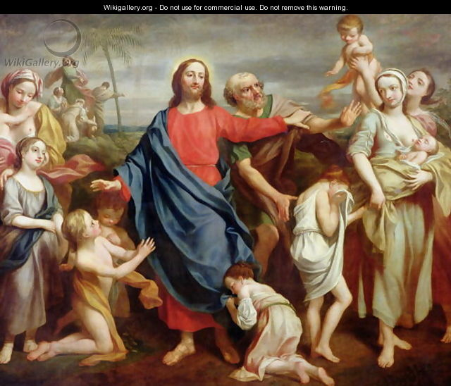 Suffer the little children to come unto me, and forbid them not, 1746 - Rev. James Wills