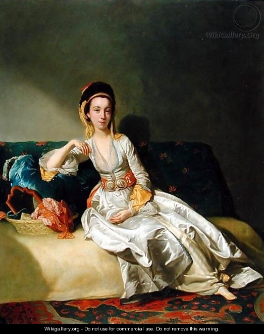 Nancy Parsons in Turkish Dress, c.1771 - George Willison