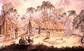 City of Acheen, North West Coast of Sumatra, 1829 - William Alexander Willis