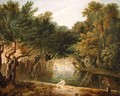 View of the Wilderness in St. Jamess Park, London, c.1770-75 - Richard Wilson