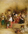 A Tartar Messenger Narrating the News of the Victory of St. Jean DAcre, 1840 - Sir David Wilkie