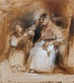 Benvenuto Cellini (1500-71) and Pope Paul II (1468-1579) - Sir David Wilkie
