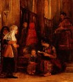 Seven Figures in a Church - Sir David Wilkie