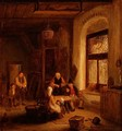 Interior with Figures by a Window - Sir David Wilkie