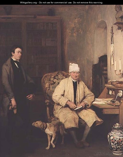 The letter of introduction, 1813 - Sir David Wilkie