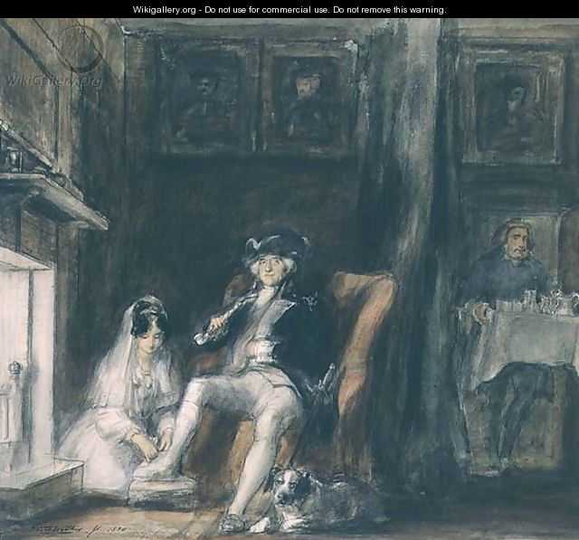 The Disabled Commodore in his Retirement, 1830 - Sir David Wilkie