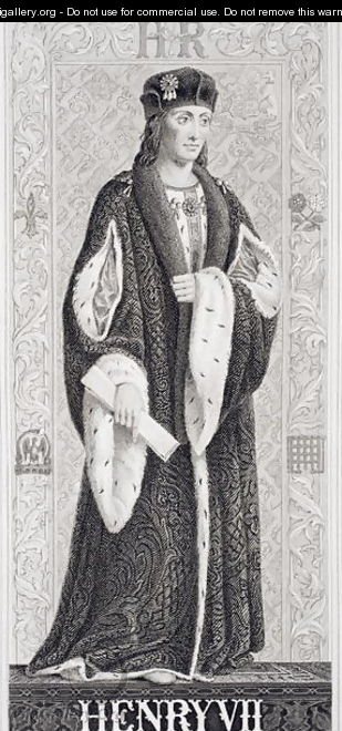 Henry VII (1537-53) from Illustrations of English and Scottish History Volume I - (after) Williams, J.L.