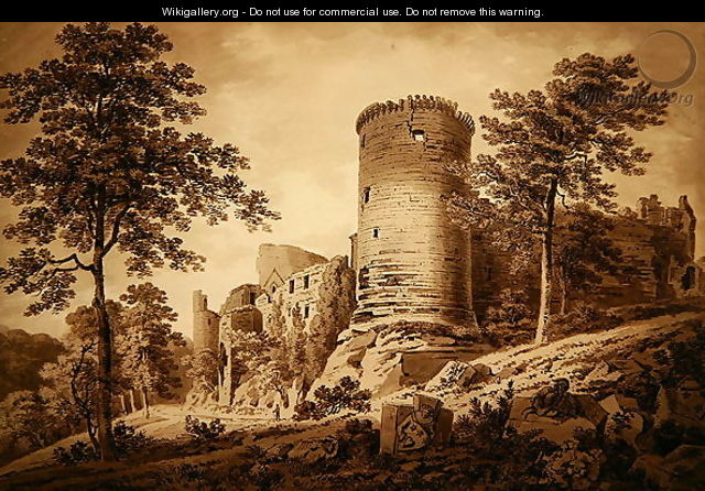 Castle Ruins - Hugh William Williams