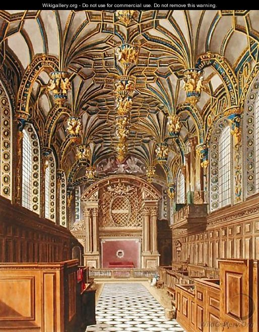 The Chapel, Hampton Court, from