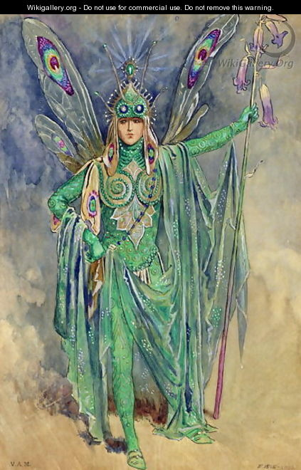 "Oberon, costume design for ""A Midsummer Night"