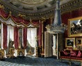 Rose Satin Drawing Room (second view) Carlton House, engraved by R. Reeve (fl.1811-37) from