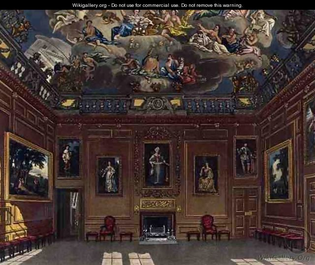 The Queens Audience Chamber, Windsor Castle, from