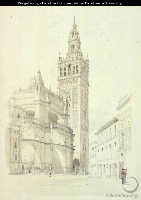 The Giralda, Seville, c.1846 - Canon G. F. Weston